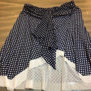 Polka Dot Skirt Cute lining free flowing light
